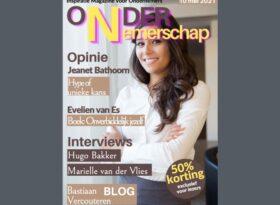Cover Ondernemerschap Magazine mei 2021