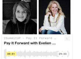 Pay it Forward with Evelien van Es